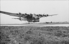 Messerschmitt Me 323 Gigant either on landing or takeoff