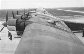 Six-engine Me 323 and gun turrets