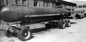 Molch midget submarine at factory