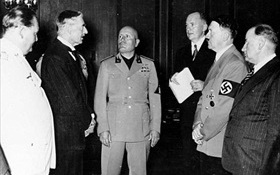 Goering plus leading European statesmen, Munich Conference, September 29, 1938