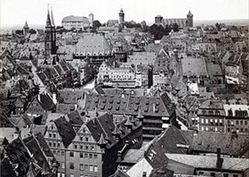 Nuremberg's Altstadt at end 19th century