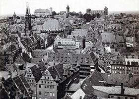 Nuremberg's Altstadt at end 19th century