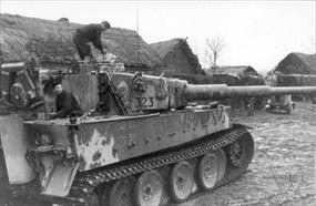 Operation Winter Storm: German Panzer VI heavy tank, late 1942
