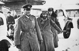 Paulus surrendering German Sixth Army, January 31, 1943