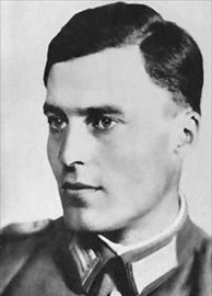 Lt. Col. Claus von Stauffenberg, German Resistance member