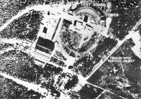 Operation Crossbow: RAF reconnaissance photo, Peenemuende, 1943