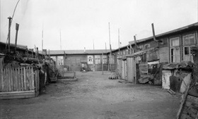 Potsdam Conference aftermath: Refugee camp in Schleswig-Holstein, 1951