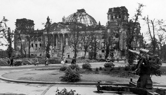 Capture of Berlin: Reichstag, June 1945