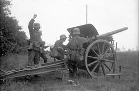 Reichswehr artillery unit, 1931