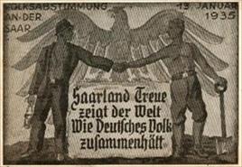 Saarland postcard
