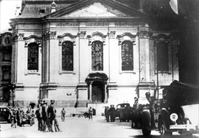 Church of Sts Cyril and Methodius in Prague