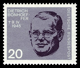 Bonhoeffer (1906–1945) 1964 stamp