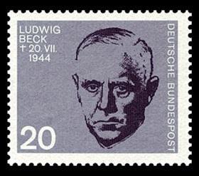 Ludwig Beck, member, German resistance, 1880–1944
