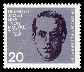 Helmuth James Graf von Moltke, member, German resistance, 1907–1945