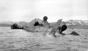 """Tirpitz"" capsized Operation Catechism"