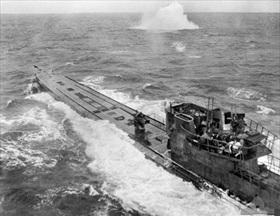 U-848 under attack