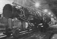 V-2 underground assembly facility