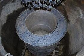 Haigerloch nuclear reactor replica