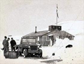 North-East Greenland Sledge Patrol HQ