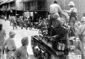 Japanese enter Batavia, Dutch East Indies capital, March 1942