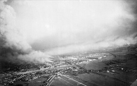 Rotterdam burning, May 1940