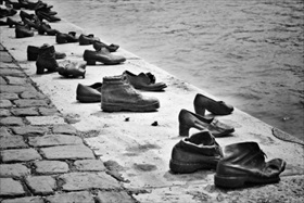 """The Shoes on the Danube Promenade"""