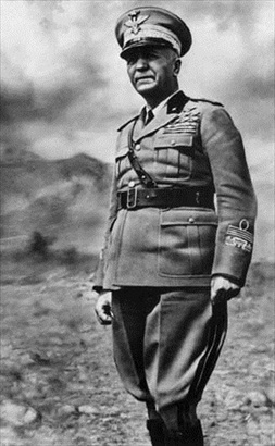 Men in the life of Benito Mussolini: Italian Marshal Pietro Badoglio