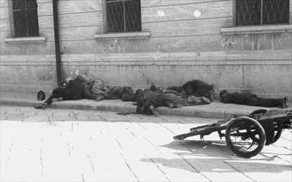 Italian resistance movement: Italians shot by invading Germans in Barletta, September 12, 1943