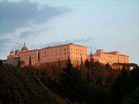 Restored Monte Cassino abbey