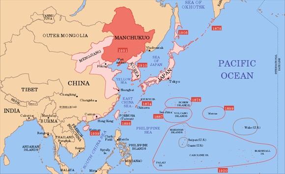 Asia Pacific, 1939