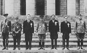 Greater East Asia Conference participants, Tokyo, November 1943