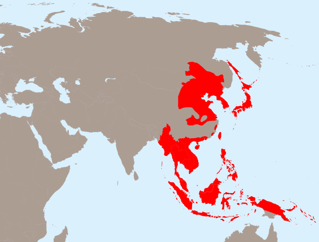 Greater East Asia Co-Prosperity Sphere, 1942