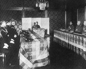 Hirohito and Imperial Conference (Gozen Kaigi)