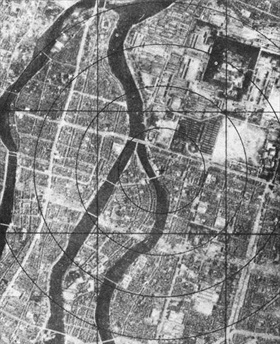 Hiroshima before August 6, 1945, bombing