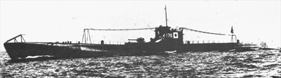 Japanese naval war crime: I-176, a submarine of the same class as I-177