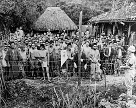 Japanese POWs on Okinawa, June 1945