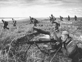 Mongolian soldiers, Khalkhyn Gol, 1939