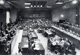 International Military Tribunal for the Far East Courtroom