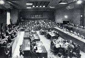 Courtroom, Tokyo War Crimes Tribunal