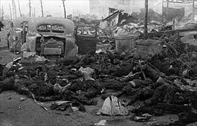 Victims of March 1945 Tokyo air raid