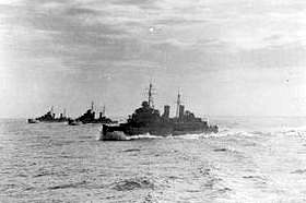 Malta in World War II: Malta-bound British convoy