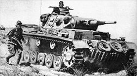 PzKpfw IIIs from Rommel's 21st Panzer Division