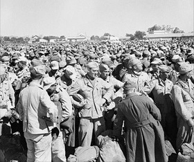 Gromalia POW camp outside Tunis, May 1943
