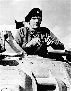 Montgomery during Second Battle of El Alamein, November 1942