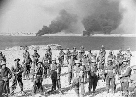 Italian-held Tobruk besieged by Operation Compass forces