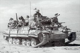 British Valentine Mk3 tank