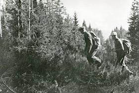 Norway in World War II: Norwegians escaping across Sweden's border