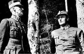 Norwegian king and crown prince, April 1940