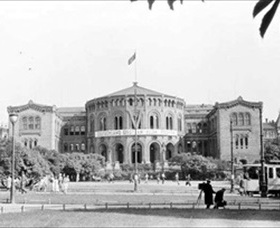 Norway's parliament building, 1941