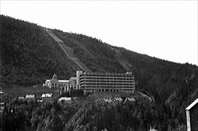 Norsk Hydro's Hydrogen Production Plant at Vemork Hydroelectric Plant, Rjukan, Norway, 1935